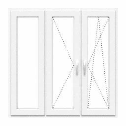 Okno stałe, rozwierane, uchylno-rozwierane