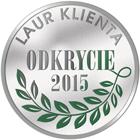 Laur Klienta - Odkrycie roku 2015 dla okna Vetrex V82 Modern Design